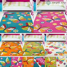 Kinderteppiche & -matten mit Schmetterlings-Motiv