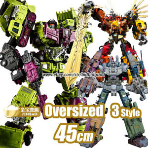 Transformation Oversized Devastator Predaking Bruticus JINBAO 6in1 Action Figure