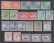 Aden 1953 part set to 2/- with shades mint lightly hinged