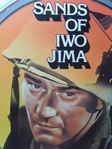 Video Disc CED Sands of Iwo Jima With John Wayne Black and White 1949