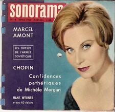 SONORAMA N° 16 MICHELE MORGAN  MARCEL AMONT / PEYNET