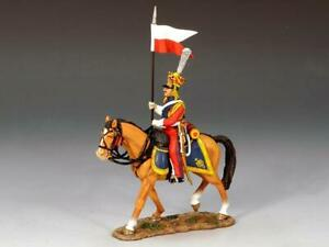 NA159 - Dutch Lancer on Walking Horse A - Napoleonic - King and Country