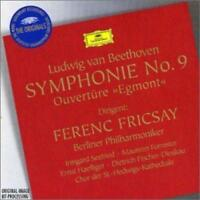 Ferenc Fricsay Berliner - Beethoven: Egmont Overture; Symphony No.9 (NEW CD)