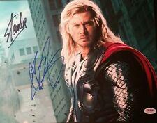 Chris Chris Hemsworth Thor Stan Lee Mr Marvel Doppelt