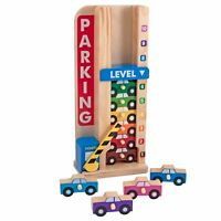 Melissa and Doug Stack and Count Parking Garage Kids Stacking Sorting Toy