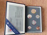Monnaie Canada coffret 1994 - FDC (Proof) 6 pièces de 1 cent à 1 dollar