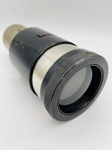 Vintage ILEX Dual Focus Projection Lens F2.5 E.F. 4 7/8 to 5 1/2 #2423 Pat. AP !