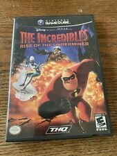 The Incredibles: Rise of the Underminer (GameCube, 2005) Complete Free Shipping
