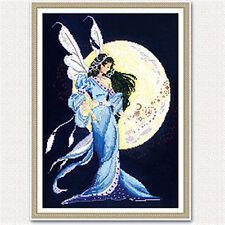 "NEW Cross Stitch Kits""The moon fairy"""