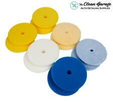 "Rupes Polishing Pad Kit   12 Pads for 6"" Backing Plate   DA Foam Wool Buffing"