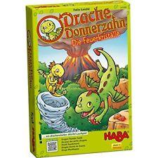 Haba Dragón Donnerzahn la Feuerkristalle 301890a partir de los 3 Años juego