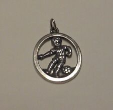 James Avery Sterling Silver BOY PLAYING SOCCER BALL Charm Pendant Retired HTF
