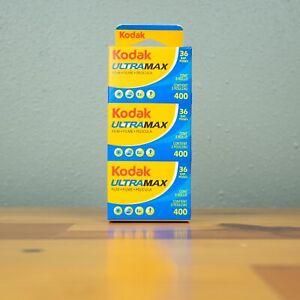 Kodak GC 3 Pack 400 Ultramax 36 Exposure 35mm Color Film (108 Exp)