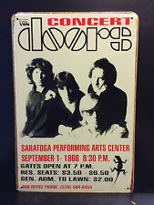 THE DOORS 1968 CONCERT POSTER VINTAGE RETRO STYLE SMALL METAL SIGN  30X40 CM