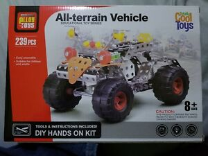 Totally Cool Toys All Terrain Vehicle *GREAT TO GET THE KIDS INTO MODEL BUILDING