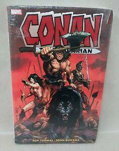 Conan The Barbarian Original Marvel Years Vol 4 Omnibus HC Marvel Sealed w Dents