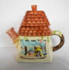 Heritage Mint Collection Mouse in a House Tea Pot Collectible Decoration Ceramic