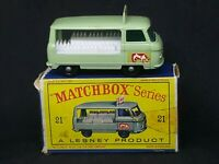 Matchbox Lesney MB21: Milk Delivery Truck in Type D2 Box