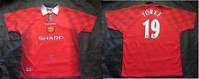 Dwight Yorke #19 MANCHESTER UNITED 1996-1997 home shirt jersey UMBRO men SIZE XL