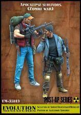 Evolution 35143 1/35 Apocalypse Survivors, Zombi War