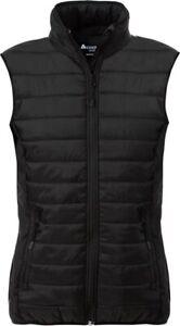 Fristads QUILTED WAISTCOAT WOMAN 1516 SCQ Body warmer Black Winter