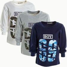 Jungen-T-Shirts, - Polos & -Hemden Größe 104 aus Baumwollmischung mit Motiv