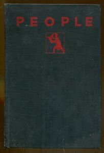 People: The Autobiography of a Mystery Writer by Edgar Wallace-1st Edition-1929