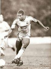 ORIGINALE stampa foto John BARNES LIVERPOOL FC 1987 (8)