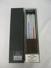 VINTAGE AIRGUIDE INDOOR OUTDOOR THERMOMETER 421-W ~ MINT IN BOX!