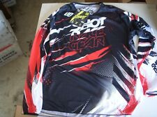 SHOT GEAR MOTOCROSS JERSEY MEDIUM PANTS 30W RED BLACK