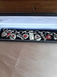 Charm Bracelet Of London By Martine Wester 1 charm missing