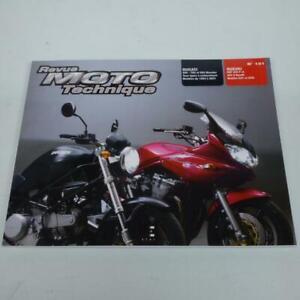 Revue technique d atelier E.T.A.I pour Moto Suzuki 600 Bandit 2001 à 2002 N121