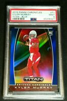 PSA 9 KYLER MURRAY RC /75 *POP 5 *BLUE HOLO PRIZM ROOKIE *NONE HIGHER 2019 Titan