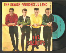 THE SHADOWS,The savage,FRENCH EP.Instrumental.nice cover.