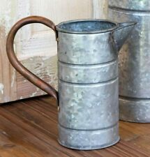 Watering Can Farmhouse Galvanized Tin/Copper Small Southern Charm Flower Vase