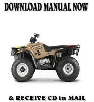 2000 POLARIS XPEDITION 425 factory repair shop service manual on CD