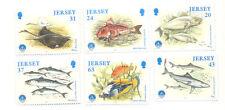 Jersey-Marine Life - Fish mnh set
