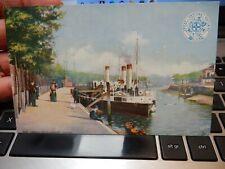 More details for harbour, levington, ipswich, ip10 0ln.. .   edwardian postcard  ger official vgc