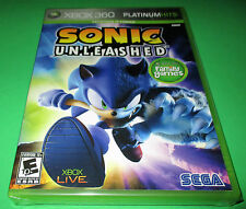 Sonic Unleashed Xbox 360   *Factory Sealed!   *Free Shipping!