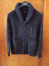 "Men's ""Apt 9"" Size S, Dk Navy H, Shawl Collar, Raglan Sleeve, Cardigan Sweater"