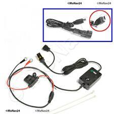 Motorrad Ladekabel Mini USB On/Off zum Anschluss an die Batterie