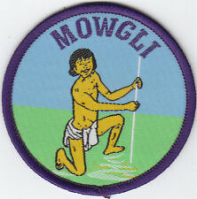 Boy Scout Cub Leader Badge JUNGLE Book Character MOWGLI