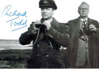 Richard Todd SIGNED Autograph on Iconic Dambusters Movie Photo AFTAL COA
