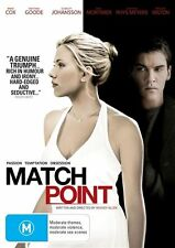 WOODY ALLEN'S MATCH POINT DVD=REGION 4 AUSTRALIAN RELEASE=NEW AND SEALED