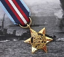 WW2 British ARCTIC STAR Medal - British Made Miniature - Arctic Convoy Award