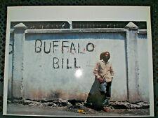 photo de presse du chanteur Buffalo Bill à Kingston par Bruno Blum en 1998