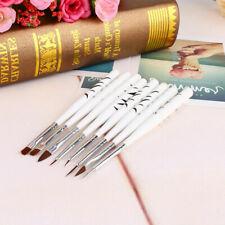 8pcs Nail Art Design Painting Dotting Pen Brushes Bundle Tool Set
