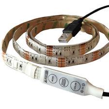 1m 5v USB 5050 LED Strip RGB / Colour Changing for your Laptop / Desktop / PC
