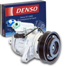 Denso 471-0400 AC Compressor & Clutch for 010119 CO10651 6512010 RL116144AE jv