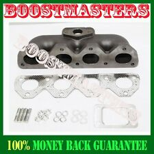 For 92-01 H22A Prelude Type S JDM Cast Iron Manifold T3/T4 flange